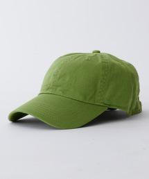 【newhattan】 ニューハッタン キャップ STONE WASHED CAPグリーン系その他2