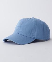 【newhattan】 ニューハッタン キャップ STONE WASHED CAPスカイブルー