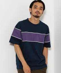 SC ラガー クルーネック 半袖 Tシャツ ◆