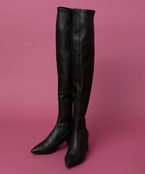 お歳暮 【セール】ニーハイストレッチブーツ(ブーツ)|DEICY(デイシー)のファッション通販, トランクファクトリー:d7e96d29 --- 5613dcaibao.eu.org