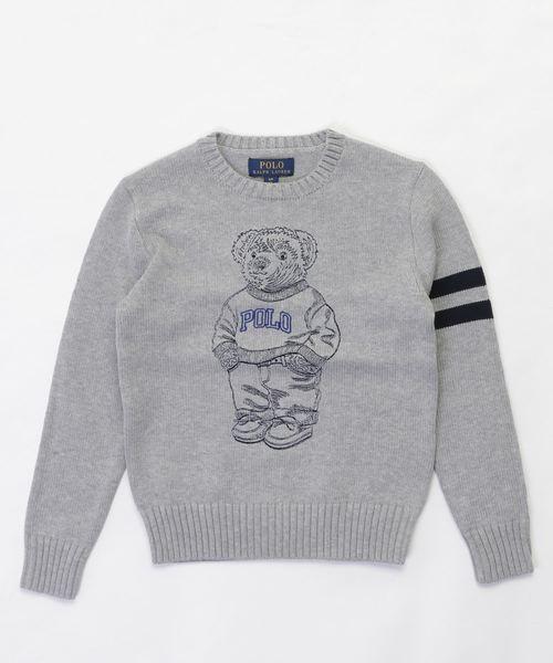 エンブロイダード Polo ベア セーター