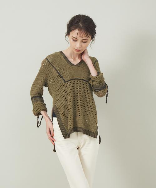 憧れ 【セール】コードクロシェプルオーバー(Tシャツ/カットソー)|36Quatre-Neuf(カトルナフ)のファッション通販, G&T:6f12409a --- rise-of-the-knights.de