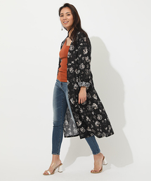 AZUL BY MOUSSY(アズールバイマウジー)のFLOWER GOWN(カーディガン)