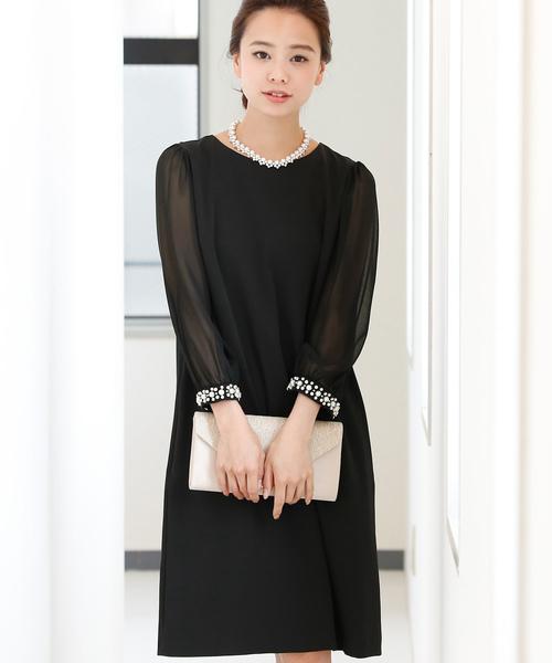 素敵な シフォン袖ワンピース・結婚式ドレス・お呼ばれパーティードレス(ドレス)|PourVous(プールヴー)のファッション通販, バルボラフットボール:30ca9ae8 --- blog.buypower.ng