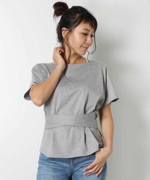 最新発見 【別注】mikomori RAG ミコモリ/ ドルマンスリーブTシャツ(Tシャツ/カットソー) AMERICAN RAG|mikomori(ミコモリ)のファッション通販, ユヤチョウ:13d351b8 --- fahrservice-fischer.de