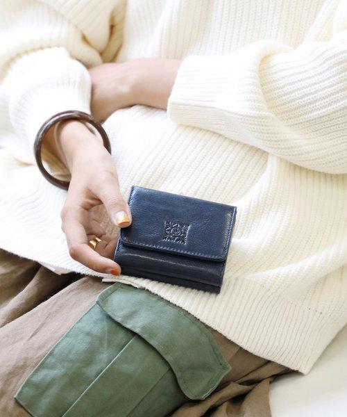 【PADMA/パドマ】イタリア革ガマ口財布