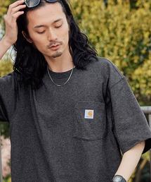 carhartt カーハート Workwear 1/2-Sleeve T-Shirts ビッグシルエット 半袖 ポケットTシャツグレー系その他