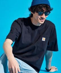 carhartt カーハート Workwear 1/2-Sleeve T-Shirts ビッグシルエット 半袖 ポケットTシャツネイビー