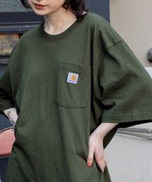 carhartt カーハート Workwear 1/2-Sleeve T-Shirts ビッグシルエット 半袖 ポケットTシャツオリーブ