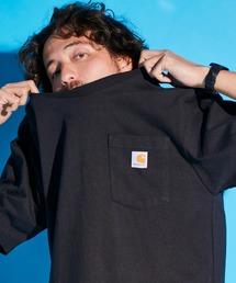 carhartt カーハート Workwear 1/2-Sleeve T-Shirts ビッグシルエット 半袖 ポケットTシャツブラック