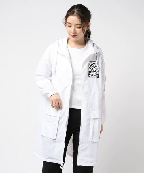 【レディース】フード付き薄手コート
