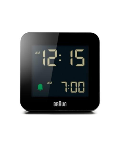 BRAUN Digital Alarm Clock BC09B