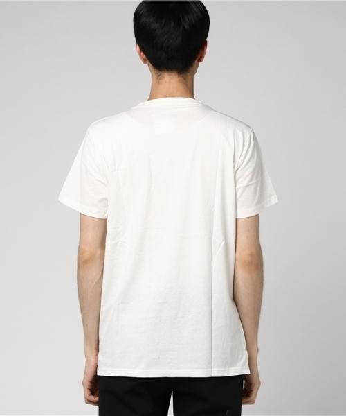 [GIORDANO] ケーブルニットポケットTシャツ