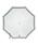 POLO RALPH LAUREN(ポロラルフローレン)の「日傘 【ボーダー×ワンポイントモチーフ】(長傘)」|詳細画像