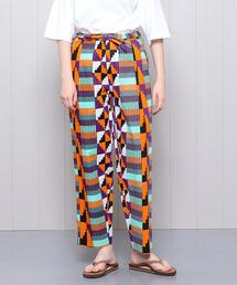 <KANGA>AFRICAN PRINT PANTS/パンツ.
