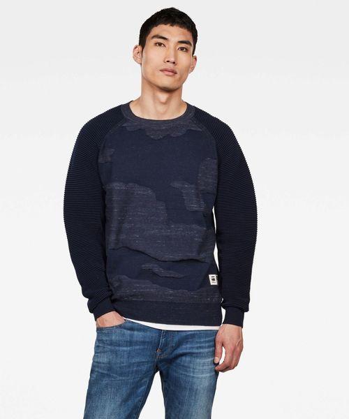 最適な価格 Dessert G-STAR メンズ,G-STAR Camo Knit(ニット/セーター) Camo G-STAR RAW(ジースターロゥ)のファッション通販, アヤウタグン:f5cbfe4e --- ulasuga-guggen.de