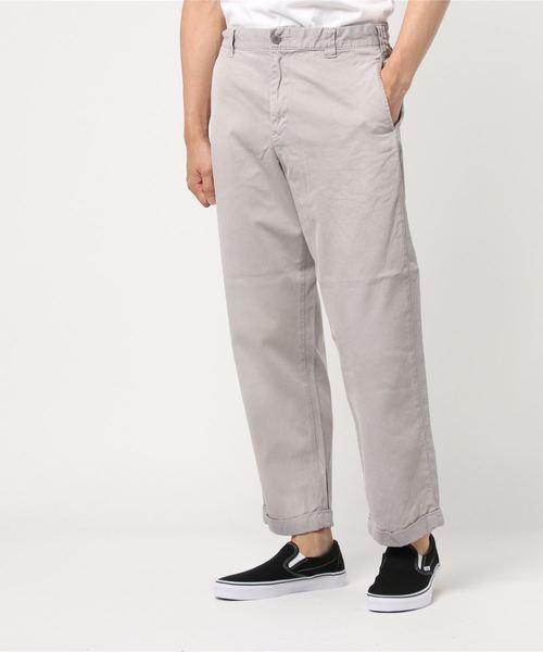人気 HYSTERICワイドテーパードチノパンツ(パンツ)|HYSTERIC GLAMOUR(ヒステリックグラマー)のファッション通販, うっどぴあ:9e156aaf --- blog.buypower.ng