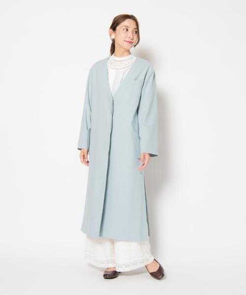 通販 Olivine JKT JKT// オリヴィンジャケット(ノーカラージャケット)|LAYMEE(レイミー)のファッション通販, TRE STYLE:df80c5ce --- pyme.pe