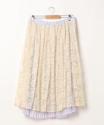 【3L】ドーリーリバーシブルスカート