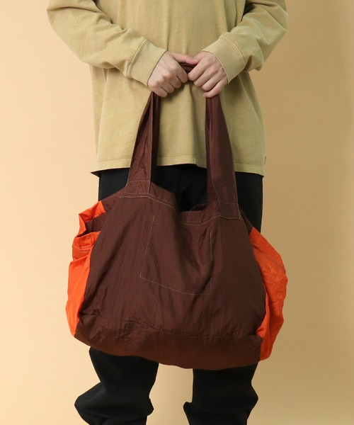 【 TICKET TO THE MOON / チケットトゥザムーン 】eco shopping bag エコ ショッピングバッグ レジカゴバッグ CUR‥