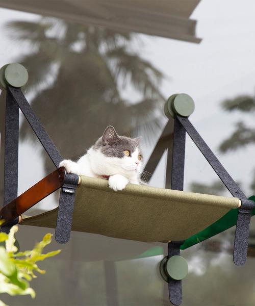 猫用ウィンドウベッド ハンモック 爪とぎ