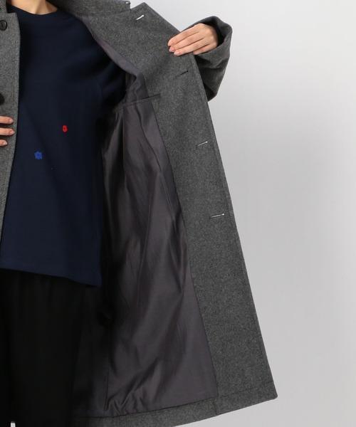 ORCIVAL(オーシバル)の「【ORCIVAL】ライトモッサ ラグランコート WOMEN(ステンカラーコート)」|詳細画像