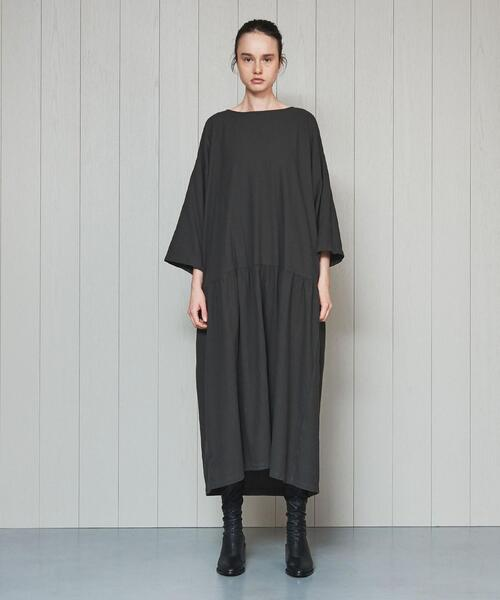 <BLACK CRANE>EASY DRESS/ワンピース