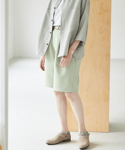 ルーズシルエットイージーワイドショーツ EMMA CLOTHES 2021 SUMMER