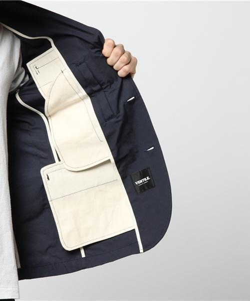 【HOUSTON SELECT】ベンタイルワークテーラードジャケット