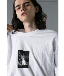 <NASA × monkey time> PHOTO LSL T/Tシャツ