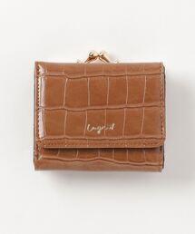 Ungrid(アングリッド)の【Ungrid/アングリッド】クロコ ガマ口WALLET(財布)