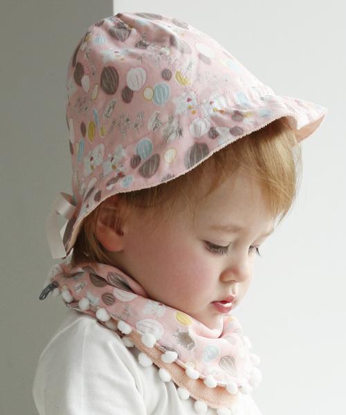 MOOMIN BABY(ムーミンベビー)の「ベビーハット(ハット)」|ピンク