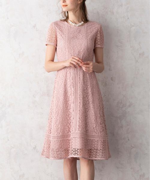 【メール便無料】 Roseパッチワークレースワンピース(ドレス)|Rose Tiara(ローズティアラ)のファッション通販, 収納家具のイーユニット:64d22393 --- tsuburaya.azurewebsites.net