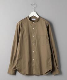 BY 70/2 ブロード バンドカラーシャツ