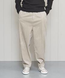<H>CORDUROY EASY PANTS/パンツ