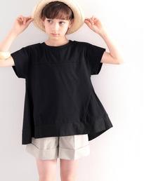 classicalelf(クラシカルエルフ)の≪キッズ≫裾ふわり、大人レディ。裾フレア切替えカットソー(Tシャツ/カットソー)