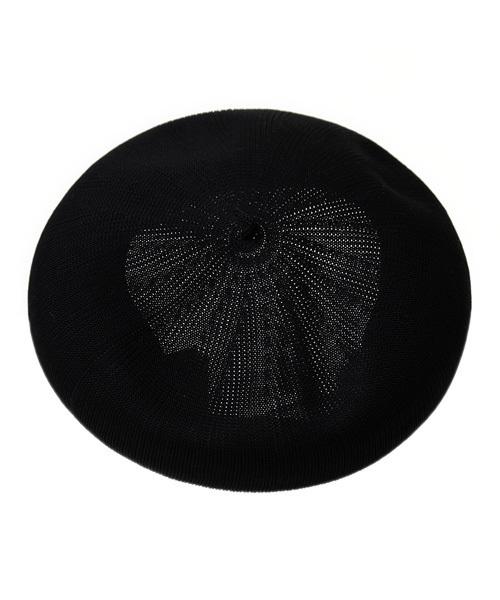 14+(イチヨンプラス)の「【日本製】14+ユニセックスオリジナルバスクベレー帽(ハンチング/ベレー帽)」 ブラック