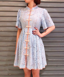PAMEO POSE(パメオポーズ)のMacau Lace Mini Dress(ワンピース)