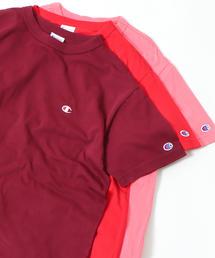 【WEB限定】Champion(チャンピオン)ワンポイントベーシックTシャツ(C3-P300)