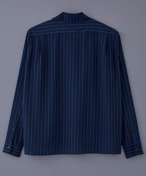 LITTLEBIG Stripe Open Collared SH (LB191-SH04)