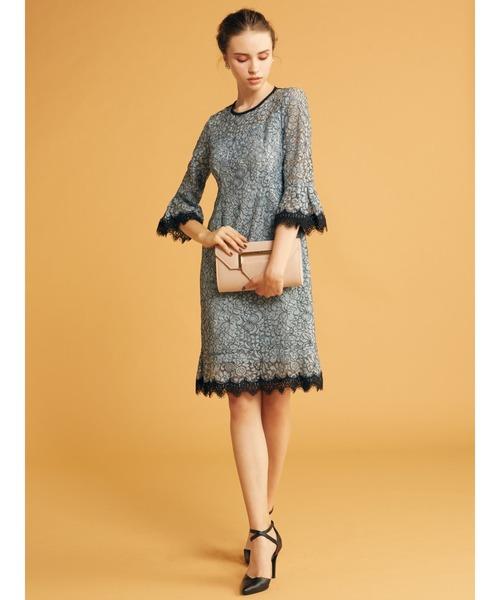 全ての 【セール】配色レーススカラドレス(ドレス)|ROYAL PARTY(ロイヤルパーティー)のファッション通販, ルイコレクション:66cad7ab --- ascensoresdelsur.com