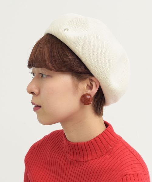 ●てんとう虫ピン ベレー帽