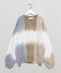 <NOMA t.d.>TWIST DYE MOTIF SWEAT/スウェット