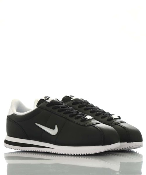 check out d0884 f2068 NIKE CORTEZ BASIC JEWEL(atmos EXCLUSIVE) (BLACK/WHITE)【SP】
