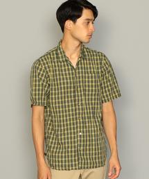 SC KINLOCH ANDERSON チェック ルーズ レギュラーカラー シャツ 半袖 ◆