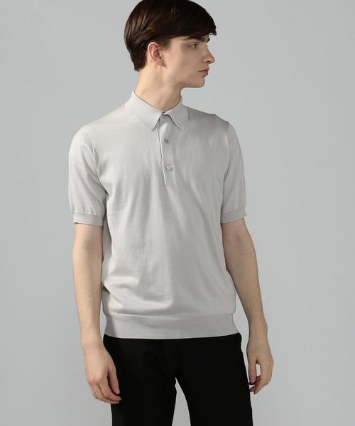 値引きする シルクコットン ニットポロシャツ, 越前名産工房 2df369ae