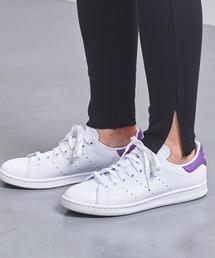 <adidas(アディダス)>STANSMITH 19FW パープル スニーカー
