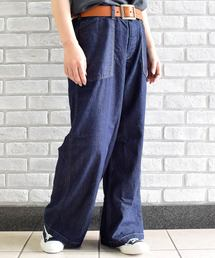 OLD BETTY'S(オールドベティーズ)の7oz Denim Wide Pants/7オンス デニム ワイド パンツ(デニムパンツ)