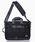 Manhattan Portage BLACK LABEL(マンハッタンポーテージ ブラックレーベル)の「Manhattan Portage BLACK LABEL: ブラック MINETTA TRIANGLE BRIEFCASE (3WAY)□(ビジネスバッグ)」 ブラック