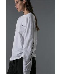 <NASA × monkey time> LOGO LSL T/Tシャツ